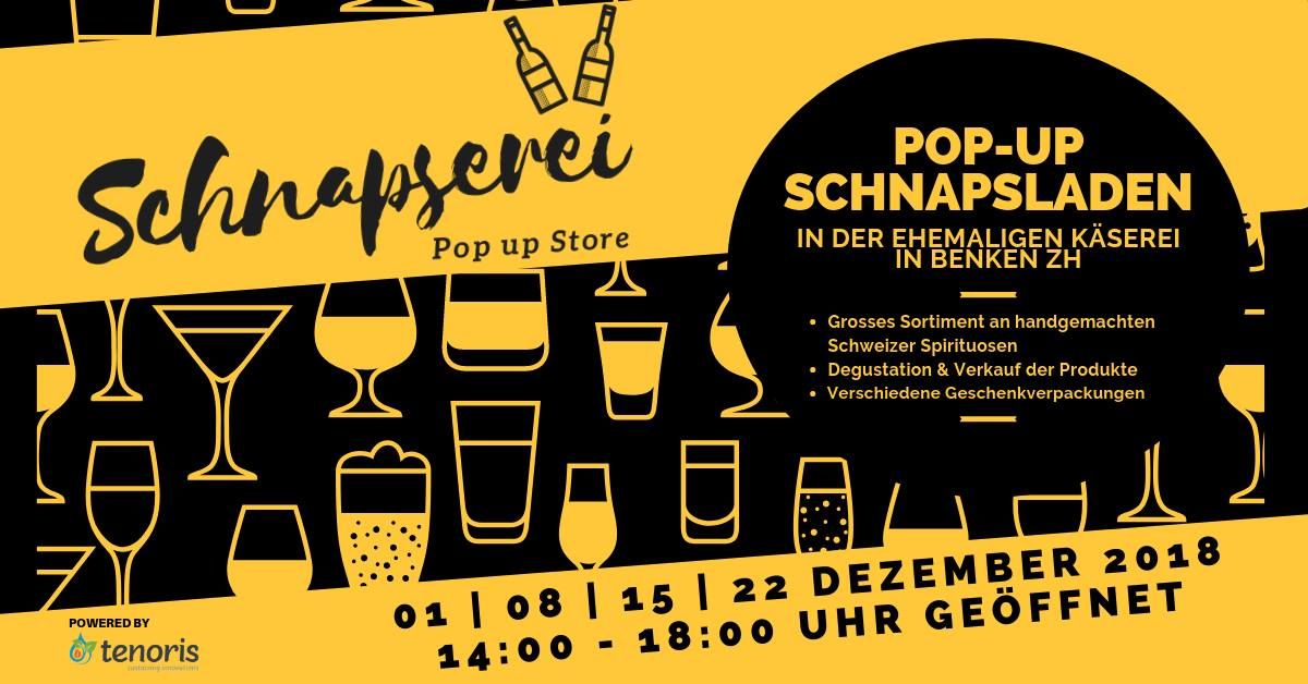 Schnapserei – Pop up Store in Benken