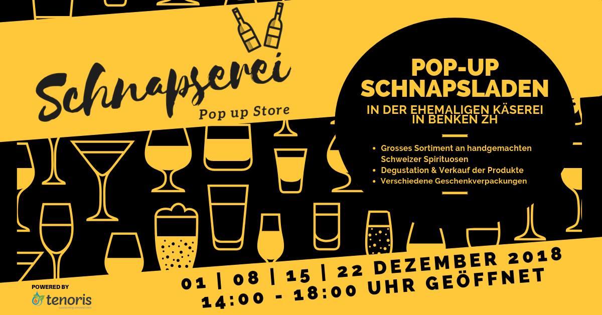 Schnapserei – Pop up Store in Benken